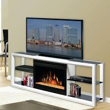 entertainment center w electric fireplace black corner