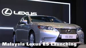 lexus es new lexus malaysia introduces global best selling model