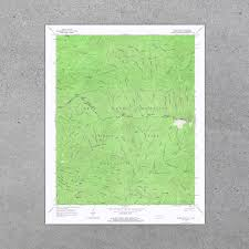 United States National Parks Map by Great Smoky Mountains National Park 1964 Usgs Map
