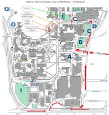 Hamilton Ontario Map University Club Of Mcmaster University Club Of Mcmaster
