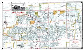 Six Flags Grand Prairie Old City Map Arlington Texas Ashburn 1960