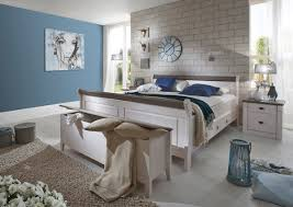 Schlafzimmer Weisse M El Wandfarbe Schlafzimmer Set 4teilig Kiefer Massiv Weiß Gewachst