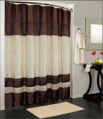 Shower Curtains Ebay York Fabric Shower Curtain Chocolate Brown In Shower Curtains
