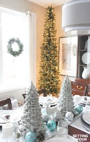 accessories pencil christmas tree style for narrow spaces setting