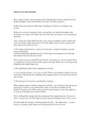 cover letter what is a good cover letter for a resume what is a