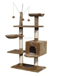 Cat Scratcher Foxhunter Cat Tree Scratching Post Activity Centre Bed Toys