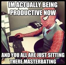 Masterbating Memes - image 460349 masturbating spider man know your meme