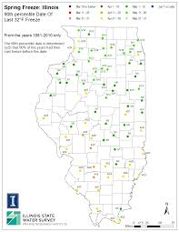 Evanston Illinois Map by Illinois Frost Dates And Growing Season Illinois State