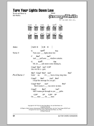 Turn Your Lights Down Low Sheet Music Direct