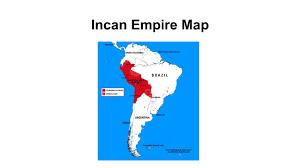 aztec mayan inca map aztec incan and mayan ppt