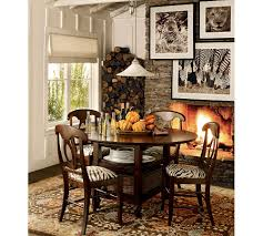 Kitchen Table Rugs Dining Room Pumpkins Dining Table Centerpieces With Fireplace And