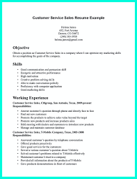 marketing skills resume csr resume or customer service representative resume include the