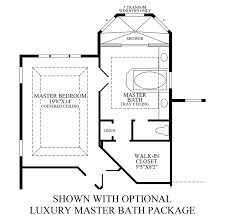 luxury master suite floor plans hasentree executive collection the raphael home design