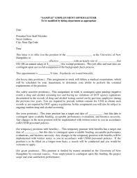 format of offer letter for job choice image letter samples format