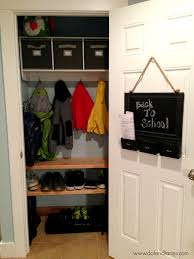 coat closet makeover back to series the benson street