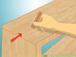 Repair Scratches In Wood Floor 5 Ways To Touch Up Scratches On Furniture Wikihow