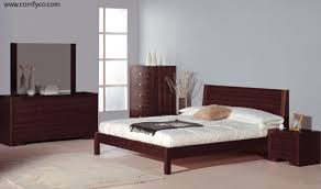 alpha wenge modern bedroom set by beverly hills furniture modern