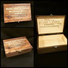 engraved memory box the world s catalog of ideas
