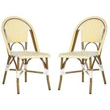 Yellow Outdoor Dining Chairs Patio Chairs The Home Depot - Yellow patio furniture