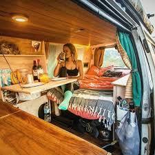 Minivan Interior Accessories Best 25 Van Interior Ideas On Pinterest Camper Van Campervan