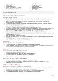 Sample Profile Resume by Resume Setup Examples A Professional Two Page Investment Analyst