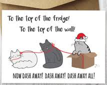 funny cat christmas cards u2013 happy holidays