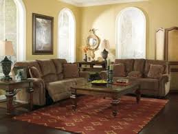Reclining Sofa And Loveseat Set Hudson Traditional Brown Chenille Reclining Sofa Loveseat