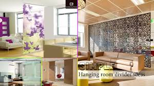 Hanging Room Divider Simple Hanging Room Divider Ideas