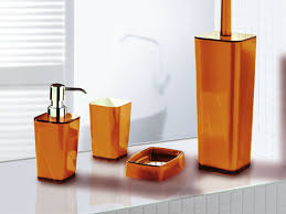 orange bathroom ideas awesome bathroom accessories orange 2016 ideas designs in burnt
