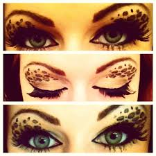 Cheetah Face Makeup For Halloween Leopard Print Eyeshadow Makeup Tutorial Youtube
