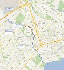Hamilton Ontario Map Ontario Mountain Biking Trails U2013 Etobicoke Creek