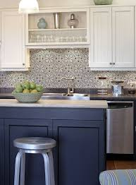 blue kitchen tiles ideas blue and white kitchen backsplash tiles fanabis