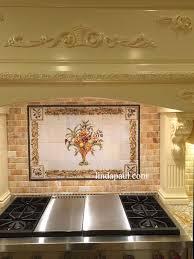 4x4 Tile Backsplash by Kitchen Stone Tile Backsplash For Kitchen My Home Design Journey