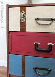 suitcase dresser u2013 ikea rast hack in the garage