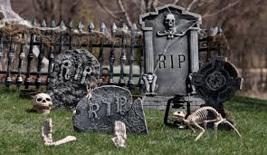 Diy Halloween Yard Decorations Halloween Graveyard Decorations Halloween Classroom Door