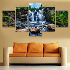 waterfall home decor online get cheap painting waterfall aliexpress com alibaba group