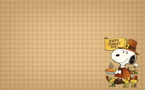 snoopy thanksgiving computer wallpaper hd wallpaper