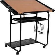 Simple Drafting Table View Photo Adjustable Drawing And Drafting Table With Black