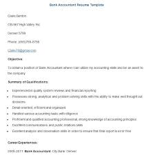 Accounting Resume Examples And Samples by Banking Resume Template U2013 21 Free Samples Examples Format
