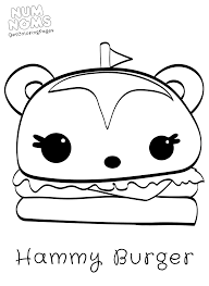 cute cupcake coloring pages num noms coloring pages getcoloringpages com