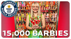 largest collection of barbie dolls classics youtube