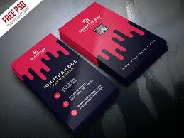 creative digital agency business card template psd download