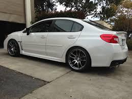 subaru legacy rims 18 inch wheels 2015 wrx sti aftermarket fitment specs u0026 images