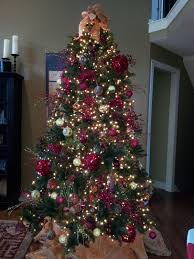 inspirational 9 foot prelit tree pre lit with led lights