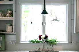 kitchen window decorating ideas and beautiful indoor decorate the window sill hum ideas