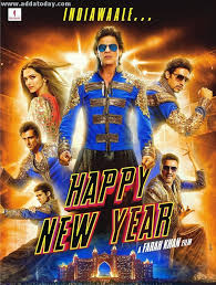 happy new years posters happy new year trailer arrives today 14th august check