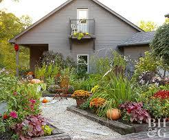 productive vegetable garden