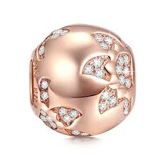 bracelet pandora rose images Pandora rose gold charms jpg