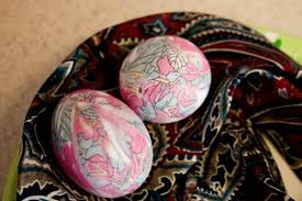 Decorating Easter Eggs With Silk by Natural Dyed Easter Eggs Just Short Of Crazy