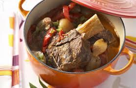 recette de cuisine provencale mijoté de boeuf à la provençale recettes de cuisine la viande fr